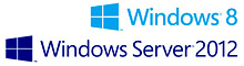 Compatible with Windows 8 & Windows Server 2012